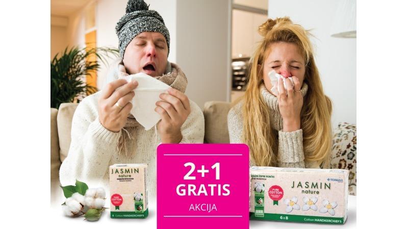 Jasmin 2+1 gratis